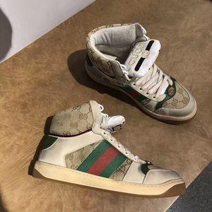 men's screener gg high-top sneaker